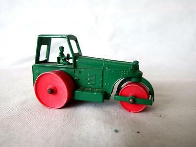Lesney Matchbox MB 1d Aveling Barford Road Roller Late Issue with Plastic Wheels