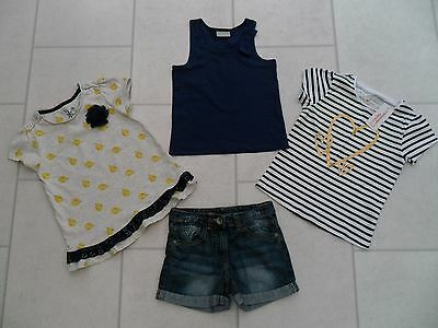 Girls Next Shorts & Tops Summer Bundle Age 4/5 Years VGC
