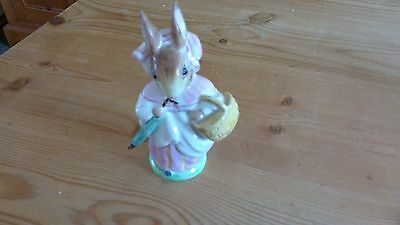 beatrix potter beswick Mrs Rabbit umbrella out