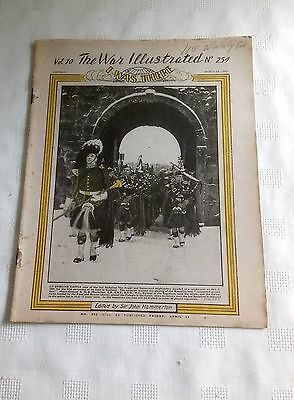 VINTAGE THE WAR ILLUSTRATED I WAS THERE MAGAZINE VOL 10 No 254 MARCH 28th 1947