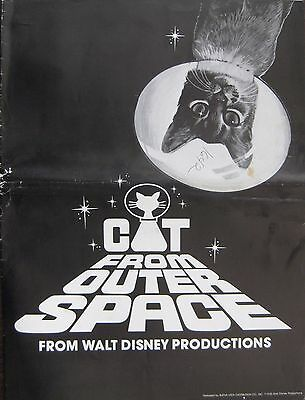 The Cat From Outer Space 1978 Original Walt Disney US Press Book