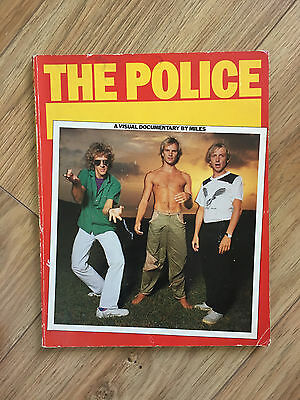 SUPER RARE softback book THE POLICE - A visual documentary by Miles