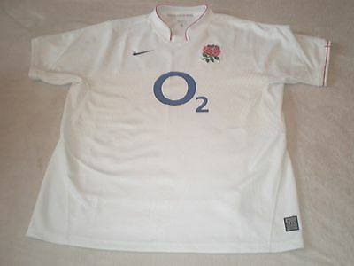 England Nike Rugby Union Shirt Size L Large Adult Mint Condition