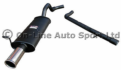 VW Golf Mk4 1.8T Turbo GTi  Sportex Performance Exhaust inc Race Tube -Single 3""