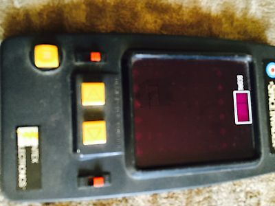 Vintage 1980 Space Invader Hand Held Entex game Free Post