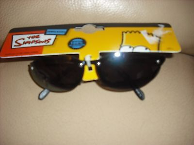 Bnwt Boys Simpsons Childs Sunglasses 100% Uv Protection