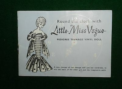 Round The Clock With Little Miss Vogue - Booklet