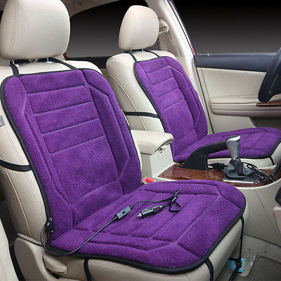 Car Heated Seat Cushion Cover Auto DC 12V Heating Heater Warmer Pad Winter New