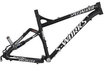 """2005 Specialized S-Works Epic M5 Mountain Bike Frame 19in LARGE 26"""" Aluminum Fox"""