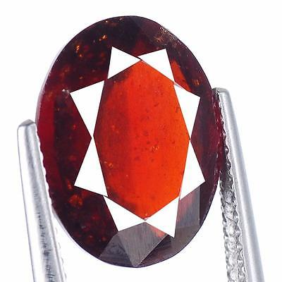 6.96 Cts Huge Top Quality Gem Grade Untreated Natural Hessonite Garnet Ceylon