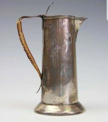 Stunning An Arts and Crafts silver pitcher Henry Strafford Sheffield 1902 20.5cm