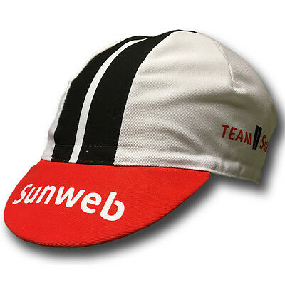 GIANT SUNWEB 2017 PRO CYCLING TEAM BIKE CAP - Fixed Gear - Made in Italy -