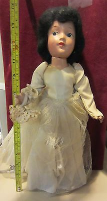 Vintage Composition Snow White Doll