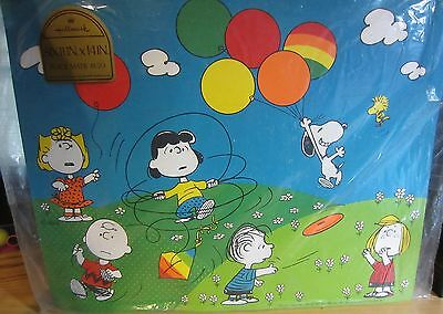 Vintage Peanuts  Placemats - Hallmark - New In Package