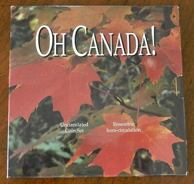 Oh Canada 1997 Uncirculated Canadian Coin Set