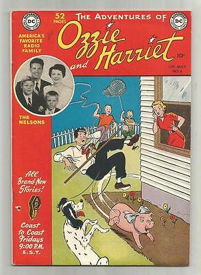 Ozzie and Harriet #4, April-May 1950