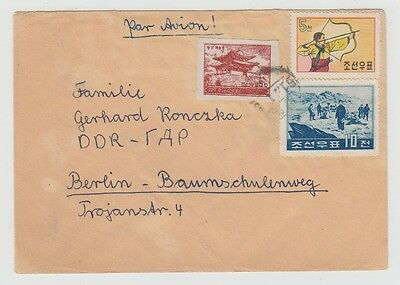Korea Old Cover Hamhung To Germany 1961 !!
