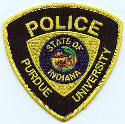 """Purdue University Indiana Police Department 4"""" Patch Law Enforcement Officer LEO"""