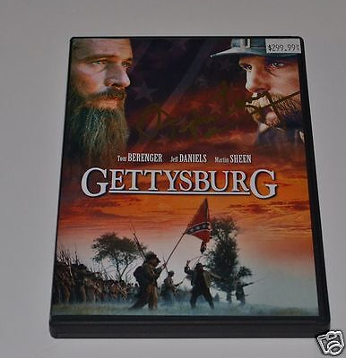 STEPHEN LANG Signed GETTYSBURG  2 DISC DVD Set  AVATAR Star Autograph