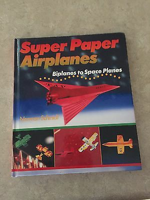 SUPER PAPER AIRPLANES BOOK  how to make all kinds of planes crafts