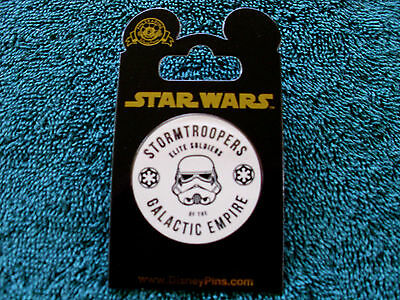 Disney Star Wars * STORMTROOPERS GALACTIC EMPIRE * New on Card Trading Pin