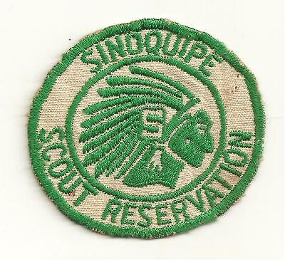 1950's  Sinoquipe Scout Reservation  Cut Edge Twill  Washington Area Council