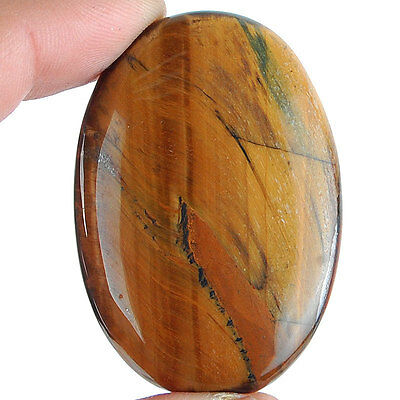 132 Cts Huge Rare Natural Tiger Eye Beautiful Untreated Pendant Size Gemstone