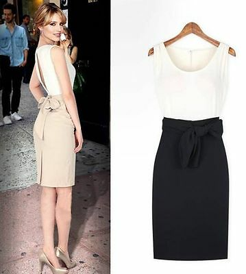 ca26f539652 Elegant Womens Office Lady Formal Business Work Party Sheath Tunic Pencil  Dress
