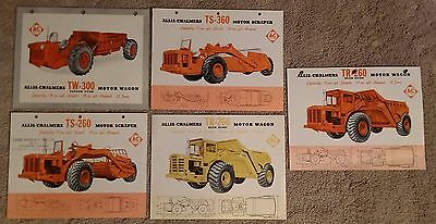 Collection of Allis Chalmers Motor Wagon Sales Literature