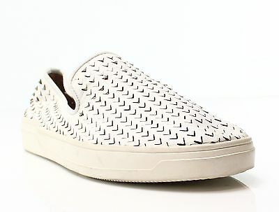 VIA SPIGA NEW White Point Perforated Women's Shoes 8M Slip On Loafers $156- #543