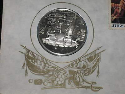 1776-1976 Postmasters Of America No.8 Sterling Silver 1St Day Cover