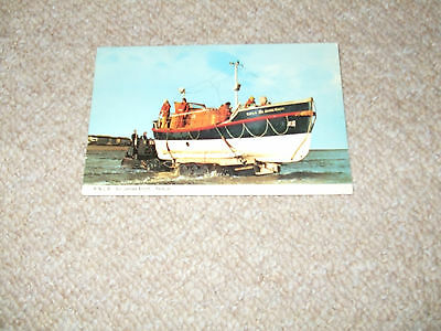 Vintage postcard Redcar Lifeboat Sir James Knott