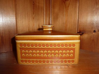 Vintage Retro Hornsea Saffron Butter dish Lovely Condition