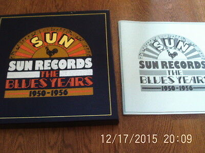 Sun Records - The Blues Years  1950-1956 - 9 vinyl lps - box set - with booklet