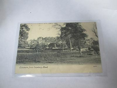 Postcard of Ellesmere from Cemetery Road 53807 posted 19010 Valentine's