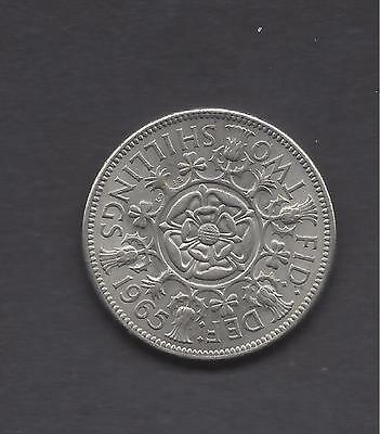 1965 Florin /two Shillings Good To Fine Condition