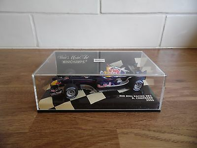 Minichamps /f1  - Red Bull Racing Rb2 - D. Coulthard -  1/43 Scale  - 400 060014