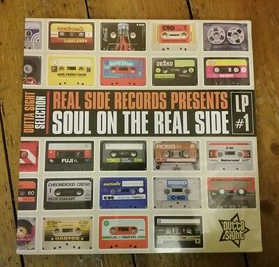 Various-Real Side Records Pres. Soul On The Real Side Lp Osvlp001 2015 Sealed!