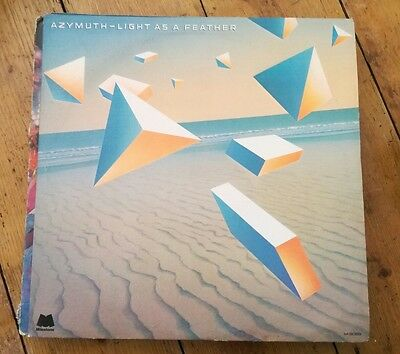 Azymuth - Light As A Feather Lp M-9089 Milestone 1979 Vg+!
