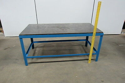 """60-1/2"""" x 28-1/2"""" x 27"""" Cast Iron Top Welding Layout Assembly Table"""