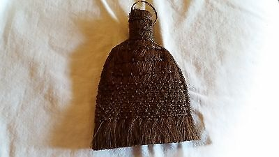 Primitive Antique Small Tightly Woven Whisk Wisk Broom