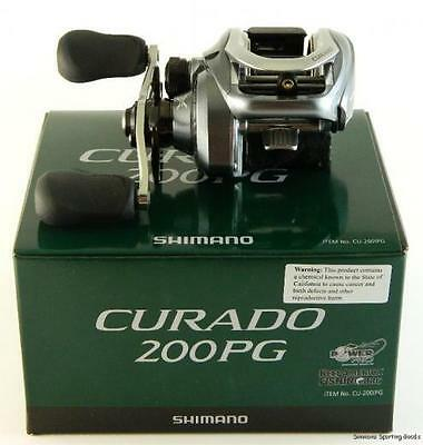 SHIMANO CURADO 200iPG (CU200IPG) Baitcaster Reel (Ratio 5.5:1) - Boxed NEW !