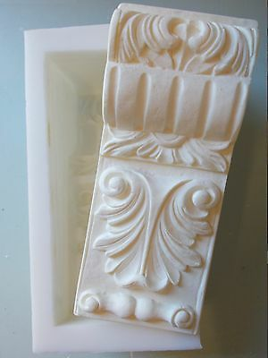 Silicone Rubber Mould Ornate Corbel  Diy Furniture Fire Place Shelf Supports