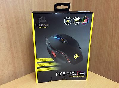 CORSAIR M65 Pro RGB 12,000dpi 8 Buttons Wired Optical Gaming Mouse *BRAND NEW*