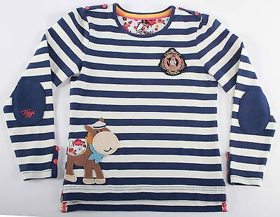Bnwt;toggi Goldie;childs Long Sleeve Top;navy;size;3-4