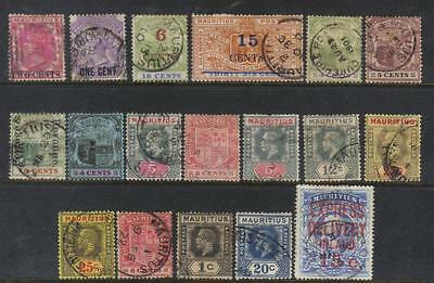 Mauritius Early Used Selection