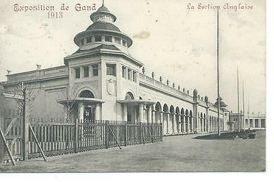 Exposition De Gand 1913 - La Section Anglais . Verstuurd 1913
