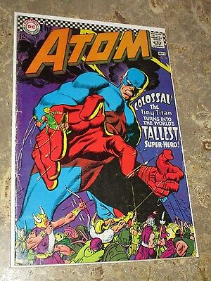 The Atom #32 1967- Gil Kane- DC Silver Age Nice Mid Grade