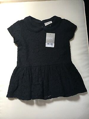 Black girls top from Next age 2-3