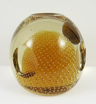 Lovely Quality Controlled Bubble and Windowed Paperweight